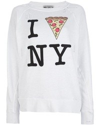 Wildfox printed sweatshirt medium 13789