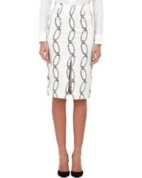 Altuzarra Chain Link Starfish Skirt White