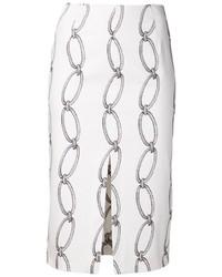 Altuzarra Chain Print Skirt