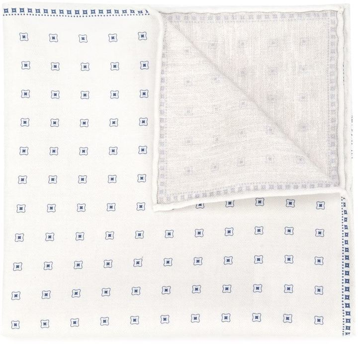 Brunello Cucinelli Printed Pocket Square