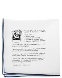 Cufflinks Inc. Cufflinks Inc Old Fashioned Recipe Pocket Square White Ties