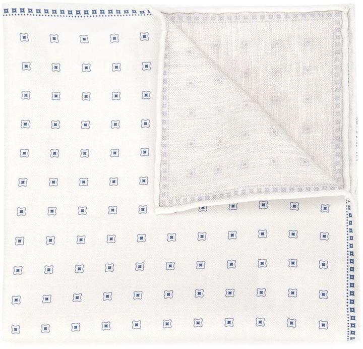 Brunello Cucinelli Printed Pocket Square