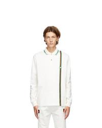 Gucci White Jersey Polo
