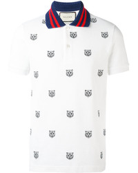 06247d8c Men's Print Polos by Gucci | Men's Fashion | Lookastic.com