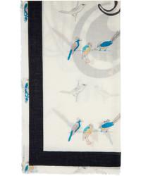 Loewe Multicolor Paulas Ibiza Parrot Scarf