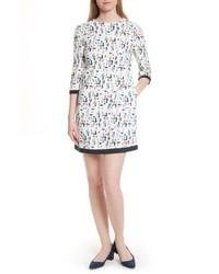 London limina print shift dress medium 5262659