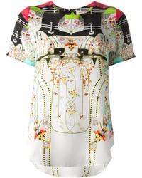 Piccionepiccione Bee Print T Shirt Blouse