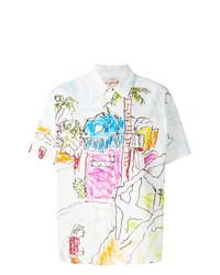 Marni Paint Print Shirt