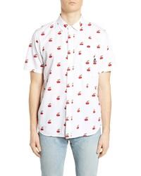 Vans Cherries Short Sleeve Button Up Shirt