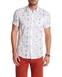 Indigo Star Suisen Short Sleeve Print Tailored Fit Shirt