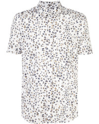 Odin Bumble Bee Print Short Sleeve Shirt