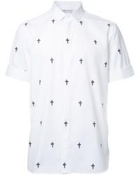 Neil Barrett Printed Short Sleeved Shirt