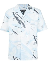 rag & bone Printed Shortsleeved Shirt