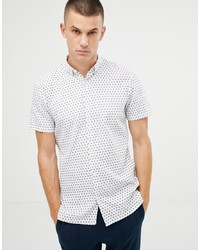Tom Tailor Short Sleeve Shirt In All Over Print
