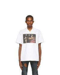Off-White White Caravaggio Holiday Short Sleeve Shirt
