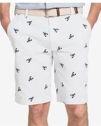 Izod Big And Tall Lobster Print Shorts