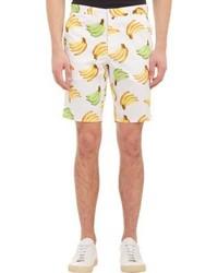 Gitman Brothers Gitman Vintage Banana Print Shorts White