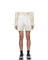Kanghyuk White Readymade Airbag Front Shorts