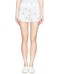 Façonnable X Faconnable By Mira Mikati Surfer Print Twill Shorts