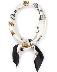 Dolce & Gabbana Key Print Scarf