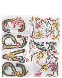 Roberto Cavalli Floral Print Scarf
