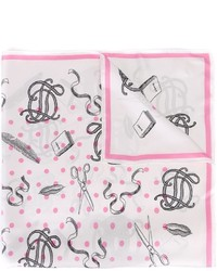 Olympia Le-Tan Printed Scarf