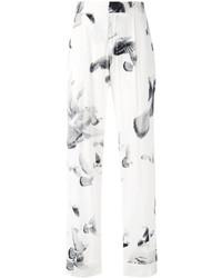 Printed wide leg trousers medium 5054399