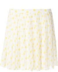 Vanessa Bruno Printed Pleat Skirt