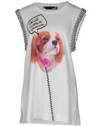 Love Moschino Sleeveless T Shirts
