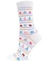 Hot Sox Happy Birthday Trouser Socks