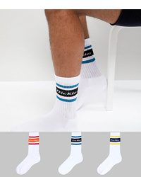Dickies Madison Heights 3 Packs Socks In Multi