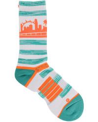 STRIDELINE Miami City Socks