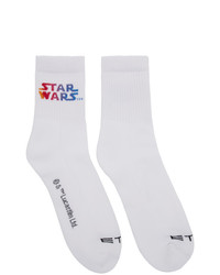 Etro White Star Wars Edition Socks