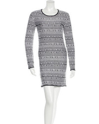 Helmut Lang Long Sleeve Sweater Dress