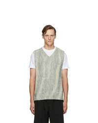 Homme Plissé Issey Miyake Off White Mc June Network Check Tank Top