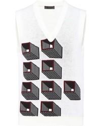 Prada Stretch Wool Vest
