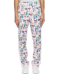 Palm Angels Multicolor Monogram Classic Track Pants