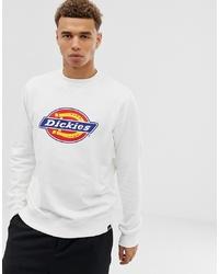 Dickies Harrison Sweatshirt With Large Logo In White