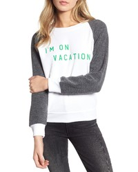 Wildfox Im On Vacation Pullover