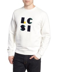 Lacoste Letter Regular Fit Sweatshirt