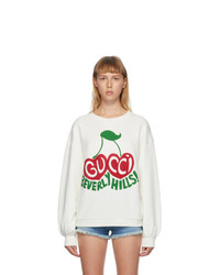 Gucci Off White Beverly Hills Sweatshirt