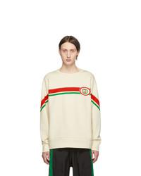 Gucci Off White Interlocking G Sweatshirt