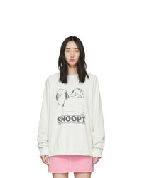 Marc Jacobs Off White Peanuts Edition Snoopy Sweatshirt