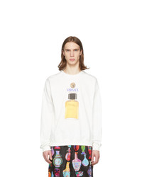 Versace Off White Perfume Sweater