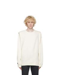 Converse Off White Shapes Bubble Sweatshirt