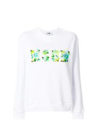 MSGM Sequin Logo Sweatshirt