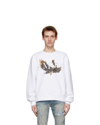 Amiri White Eagle Sweatshirt