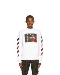 Off-White White Slim Caravaggio Sweatshirt