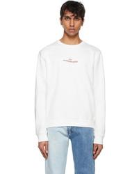 Maison Margiela White Sweatshirt