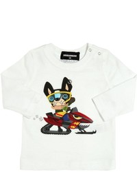 DSQUARED2 Ciro Printed Cotton Jersey T Shirt
